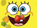 SpongeBob kroi owoce