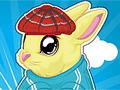 Play Fluffy Bunny Dress Up