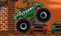 Krossande monstertruck
