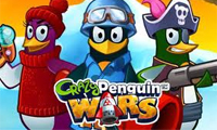 play Crazy Penguin Wars