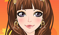 Autumn Girl Make Up