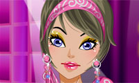 Catwalk Model Make Up Game