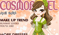 Cover Model Dress Up: April