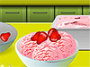Jugar a Helado de fresa: Cocina con Sara
