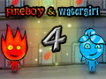 Fireboy &amp; Watergirl 4: Kristalltempel