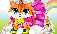 Game Cute Kitty Dress Up
