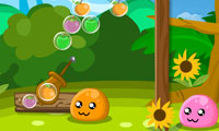 Puru Puru Fruit Bubble Game Online