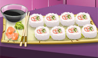 Play Sara's Cooking Class: California Rolls Games