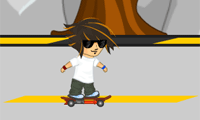 Game Rocket Skateboard