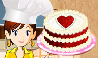 Play Sara's Cooking Class: Red Velvet Cake Games