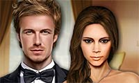 Play Beckham Celebrity Makeover Games