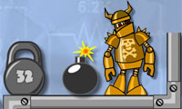 Play Crash The Robot!: Explosive Edition