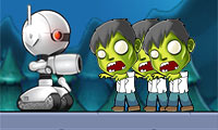 Play Robot vs. Zombies