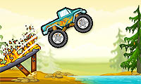 Play Monster Truck vs. Forest Games